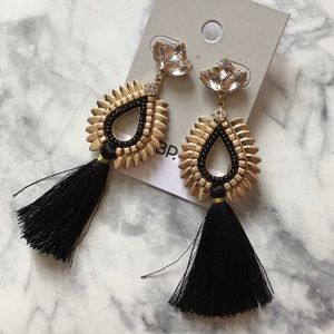 NEW Fringe Chandelier Tassel Earrings